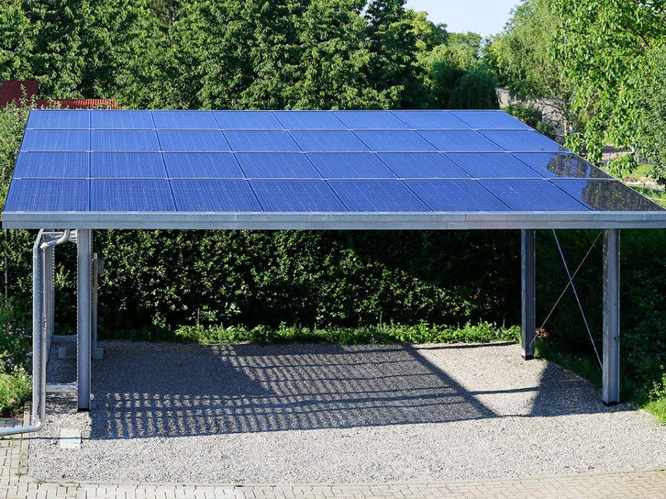 GFix Carport EA Duo Solar Otopark