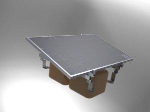 Yüzer Solar Montaj Sistemi 2
