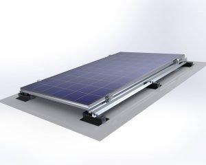 Membran Çatı Solar Montaj Sistemi 1