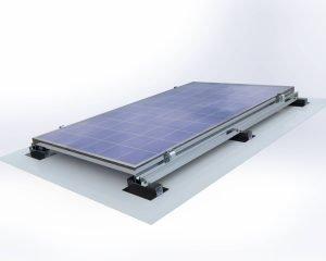 Membran Çatı Solar Montaj Sistemi 3