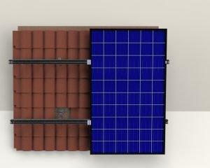 Kiremit Çatı Solar Montaj Sistemi 1