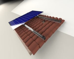 Kiremit Çatı Solar Montaj Sistemi 3