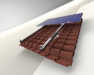Kiremit Çatı Solar Montaj Sistemi 5