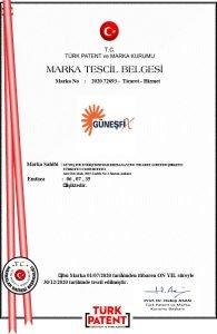 Güneşfix-MARKA-TESCİL